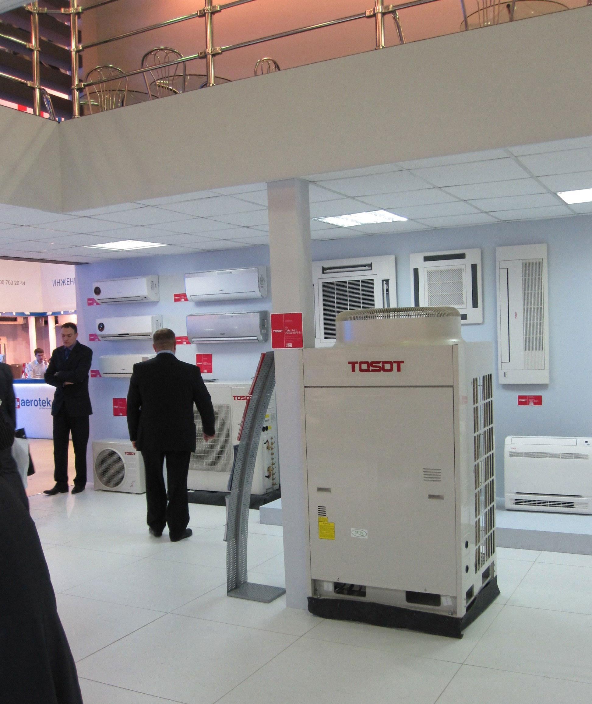 промышленные кондиционеры TOSOT  на выставке Одесса Евроклимат